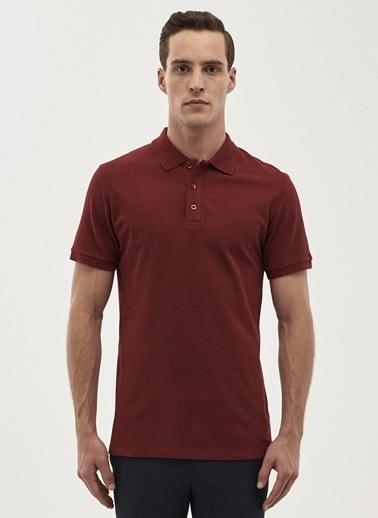 Altınyıldız Classics Polo Yaka Tişört Bordo